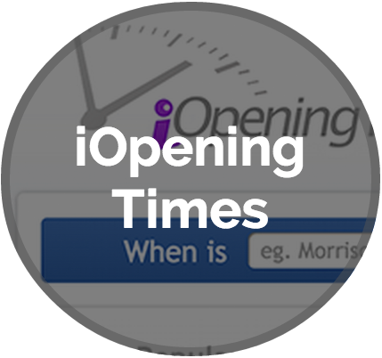 Our Projects: iOpeningtimes